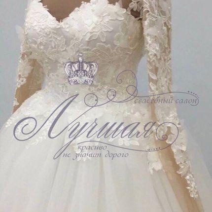 Платье пышное А1355 прокат