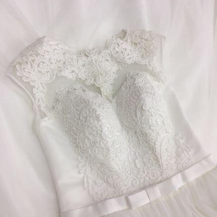 Платье со шлейфом А1397 прокат