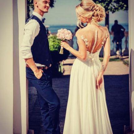 Свадебное платье в греческом стиле А1408