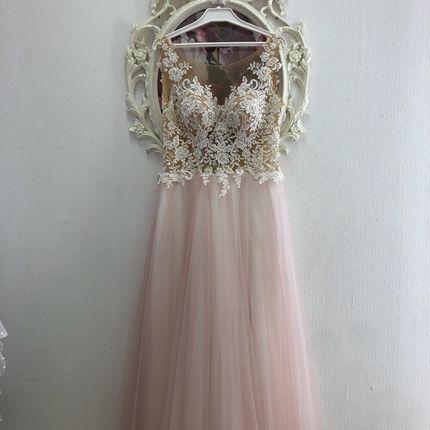 Свадебное платье цвета пудра А1434