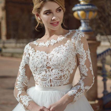 Платье пышное А1466