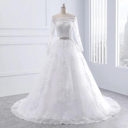 Платье со шлейфом А1472