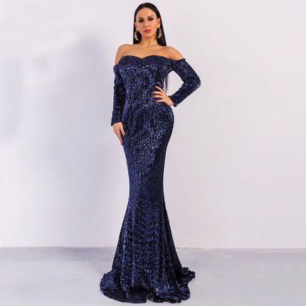 Вечернее платье силуэта рыбка прокат А1518