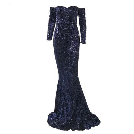 Вечернее платье силуэта русалка А1557