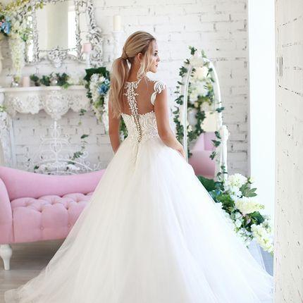 Платье пышное прокат А1569