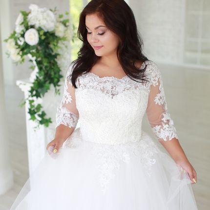 Платье пышное прокат А1581