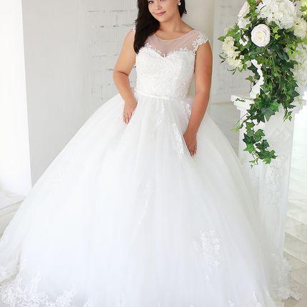 Платье пышное А1591