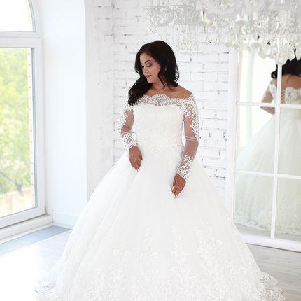 Платье пышное А1595