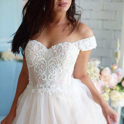 Платье пышное на прокат А1605
