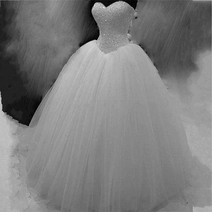 Платье пышное А1686