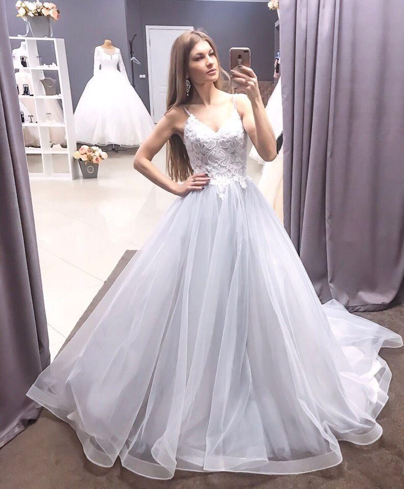 Прокат свадебного платья со шлейфом, А1707