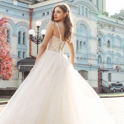 Платье на бретелях А1788
