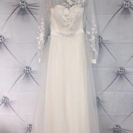 Платье с рукавами А1793