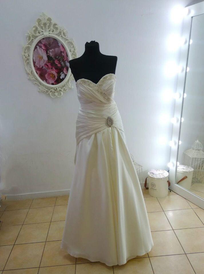 Платье атласное А1821
