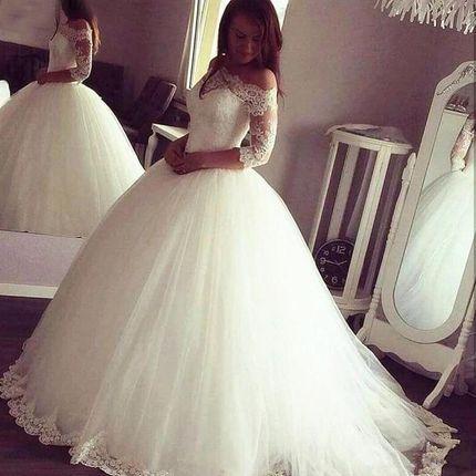 Платье пышное А1851