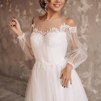 Свадебное платье А2034. Продажа 18.500 руб. Прокат свадебных и вечерних платьев от 1.900 руб. до 14.500 руб. Есть отдельно ряд платьев для проката!