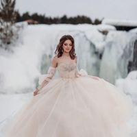 Платье А2224 цвет каппучино