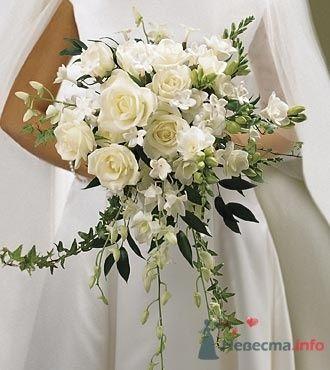 Фото 19772 в коллекции Букет невесты и бутоньерка - Невеста01