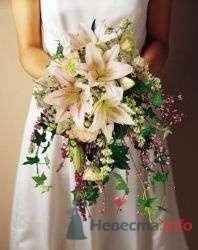 Фото 19774 в коллекции Букет невесты и бутоньерка - Невеста01
