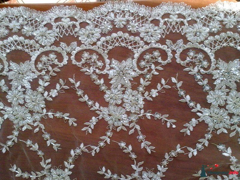 """Фото 143049 в коллекции Образцы - """"Гофус"""" - свадебные ткани и фурнитура для платьев"""