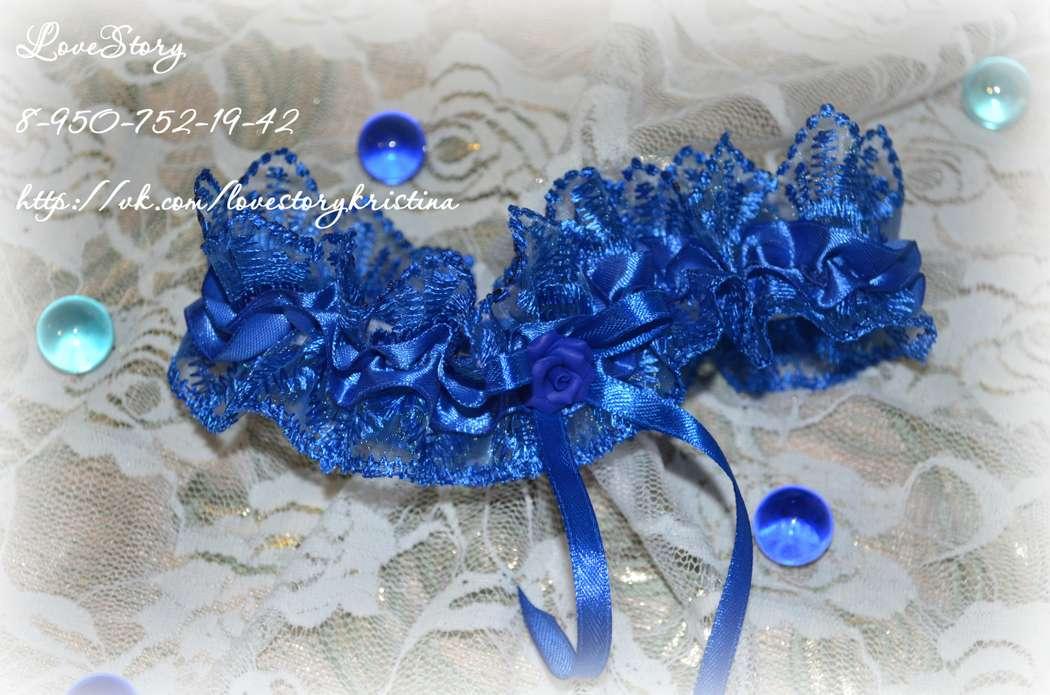 """Подвязка невесты """"Шарм"""" - фото 4423455 Студия аксессуаров Кристины Тишковой"""