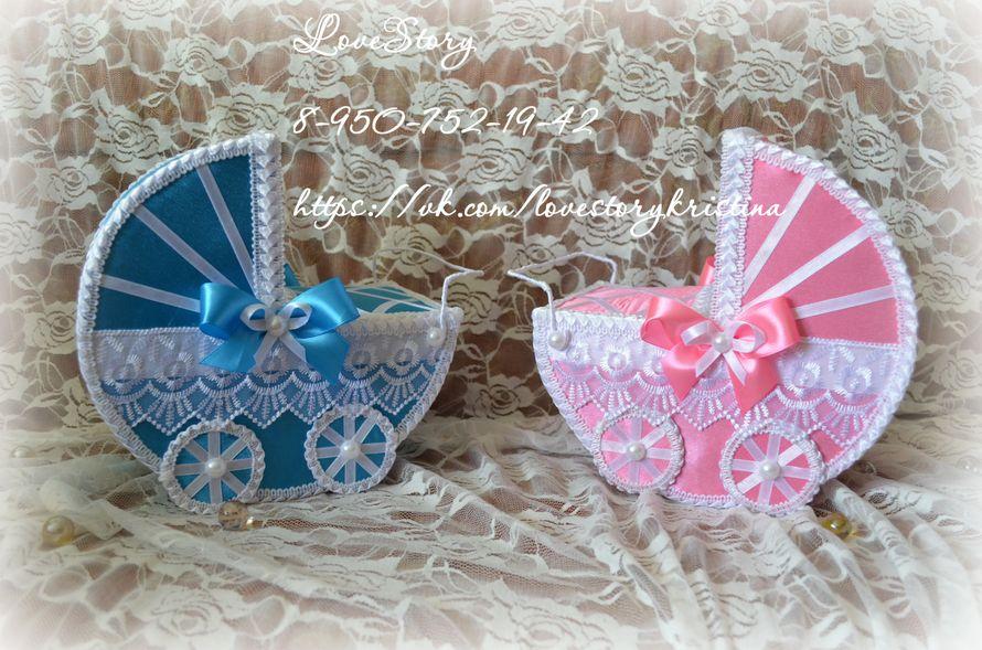 Комплект колясочек для свадебного конкурса - фото 4425553 Студия аксессуаров Кристины Тишковой