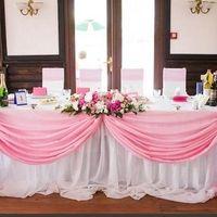 Живые цветы на свадебную машину или оформление свадебного стола