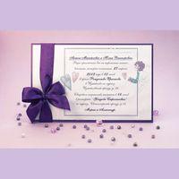 Свадебное приглашение с ангелочком