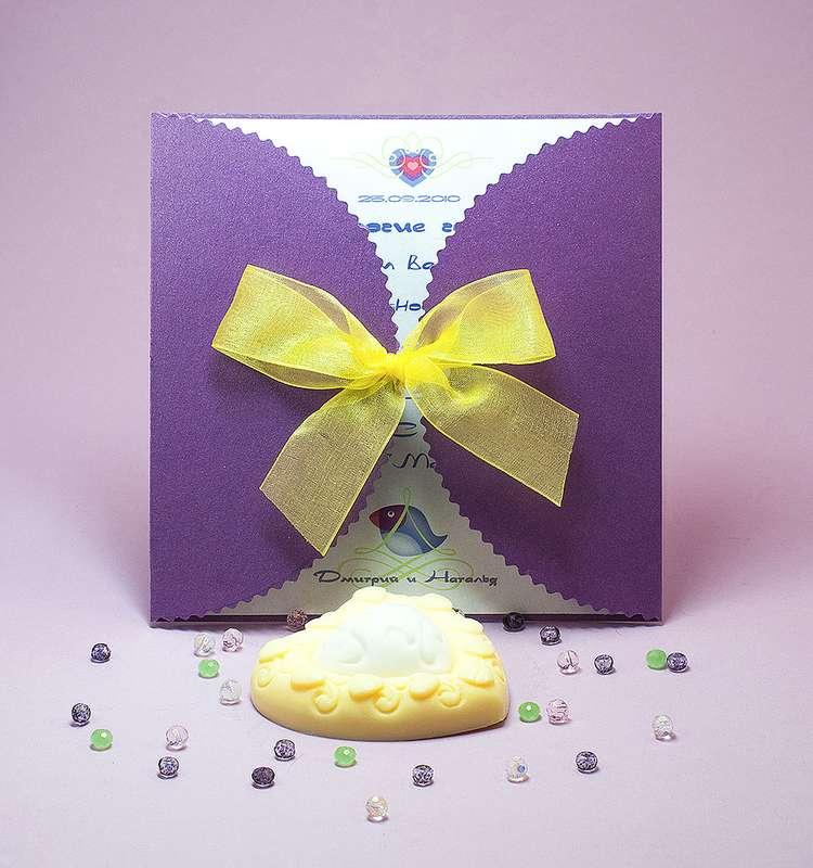 """Приглашение на свадьбу """"Райская птичка"""". - фото 2032248 Natta Art Shop. Приглашения, бижутерия, подарки"""
