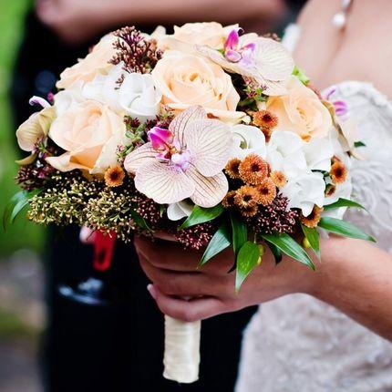 Дизайнерский букет невесты
