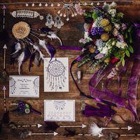 свадебные детали богемная свадьба, бохо