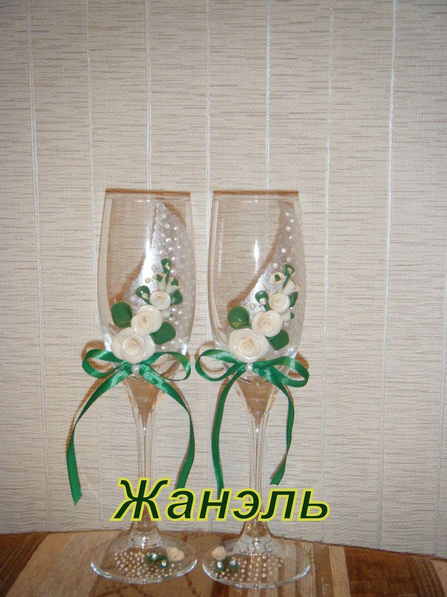 Бокалы ручной работы - фото 3582283 Жанэль - студия свадебного декора и услуг