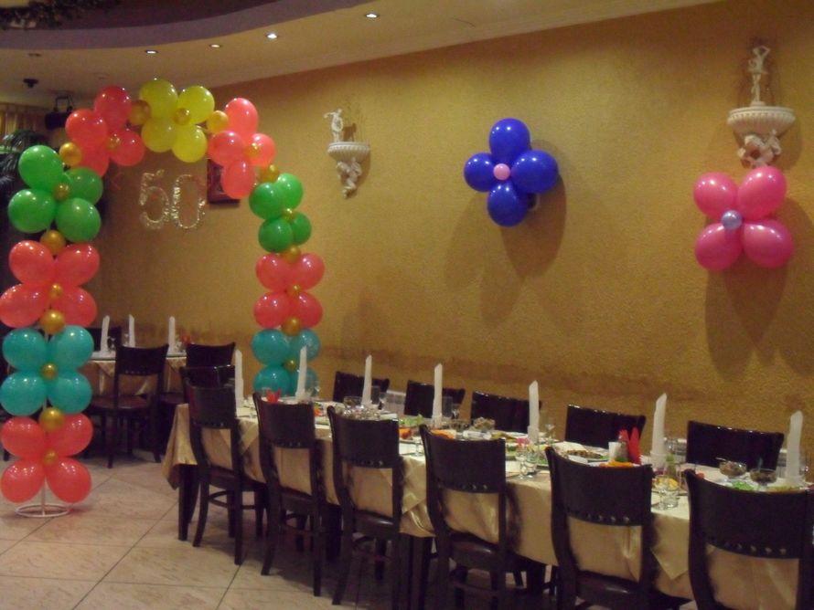 Юбилеи - фото 4617165 Жанэль - студия свадебного декора и услуг