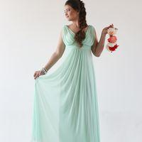Весенняя фотосессия. подружка невесты в нежной мяте