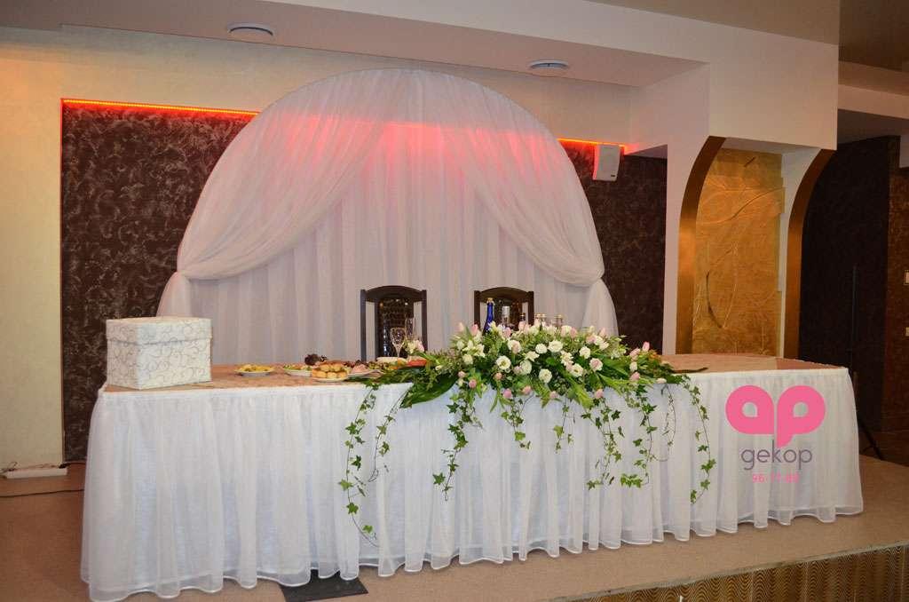 Оформление свадьбы в кафе Деканат - фото 1651073 АрДекор - флористы