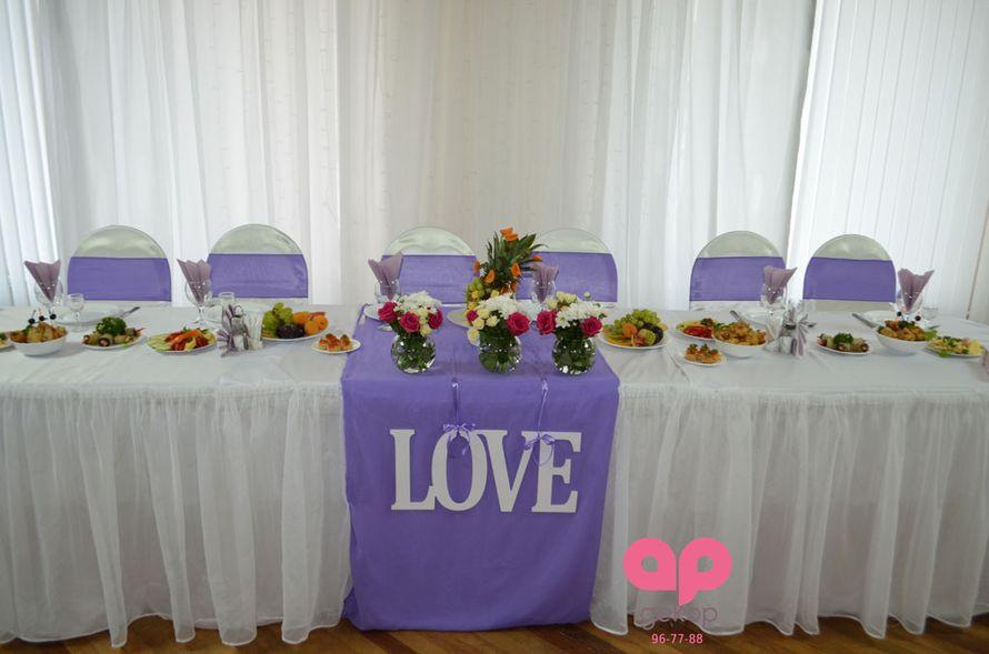 Оформление свадьбы в столовой Дома советов - фото 1651083 АрДекор - флористы