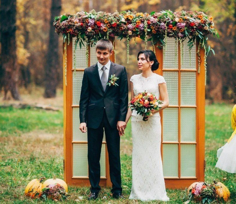 осенняя свадьба, свадьба осенью,свадьба тамбов,свадьба в тамбове, выездная церемония в тамбове, - фото 15992306 Студия организации свадеб Art Wedding