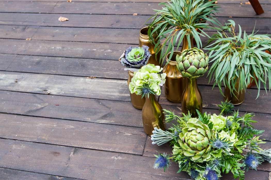 Выездная церемония росписи в стиле rustik - фото 3311563 DIAMANTE-deco студия свадебного дизайна