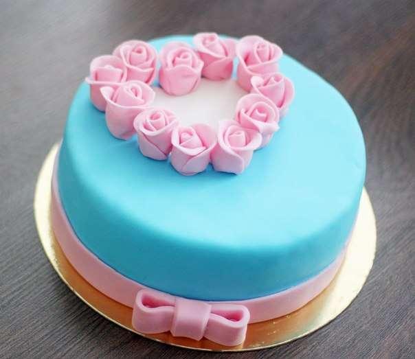 Первый торт из мастики своими руками рецепт с фото 63