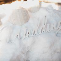 Деревянные слова для свадебной фотосессии
