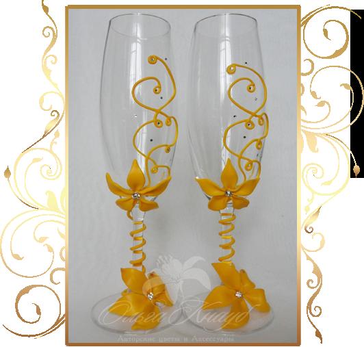 Фото 809973 в коллекции Свадебные бокалы, шампанское, подушечки для колец - Кнауб Ольга - Свадебные аксессуары