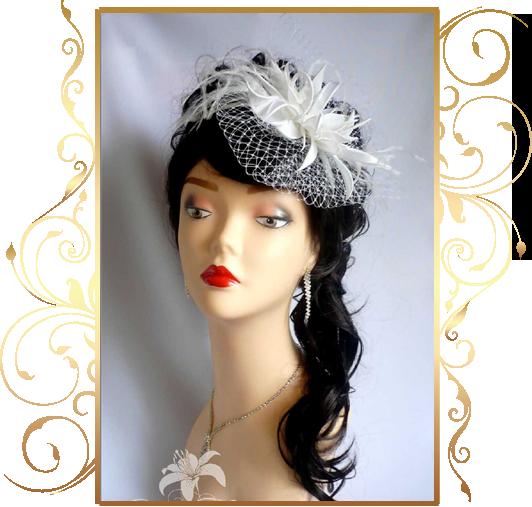 Фото 810187 в коллекции Свадебные шляпки, вуалетки - Кнауб Ольга - Свадебные аксессуары