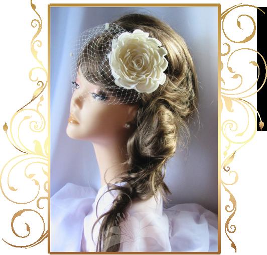 Фото 810207 в коллекции Свадебные шляпки, вуалетки - Кнауб Ольга - Свадебные аксессуары