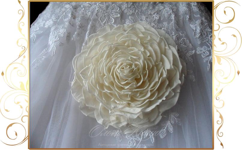 Фото 810237 в коллекции Цветы из шелка - Кнауб Ольга - Свадебные аксессуары