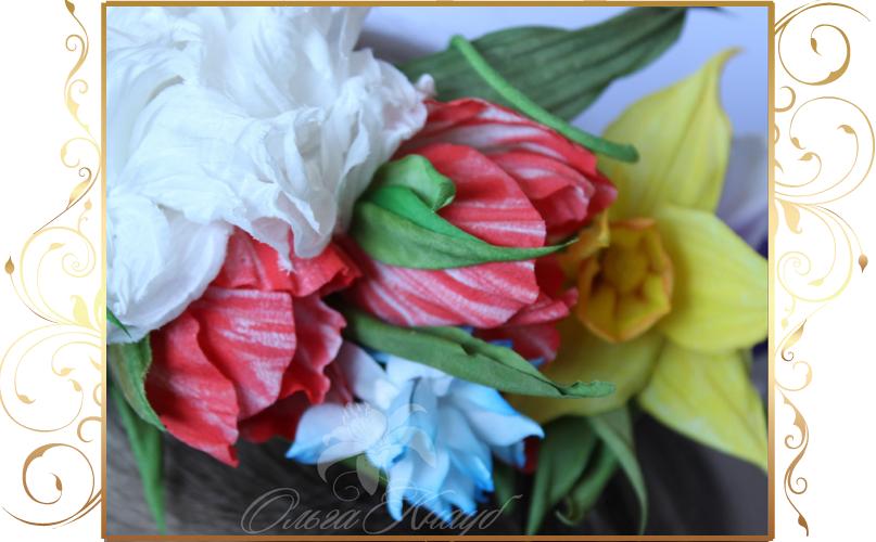 Фото 810257 в коллекции Цветы из шелка - Кнауб Ольга - Свадебные аксессуары