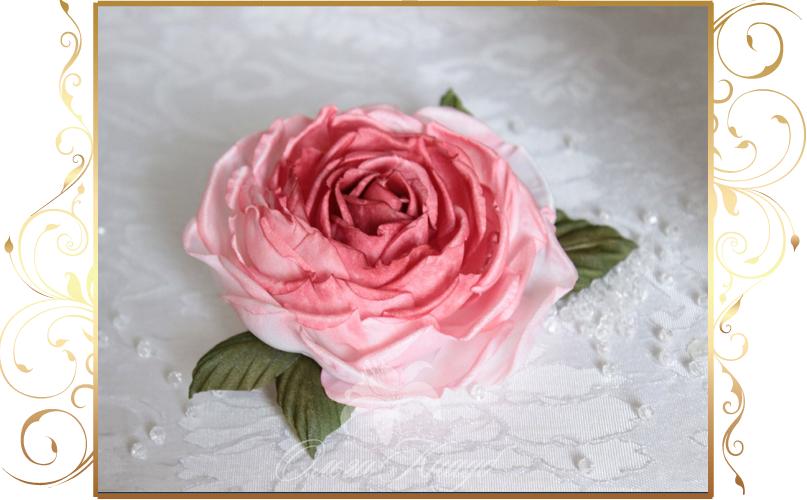 Фото 810261 в коллекции Цветы из шелка - Кнауб Ольга - Свадебные аксессуары