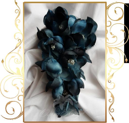 Фото 810265 в коллекции Цветы из шелка - Кнауб Ольга - Свадебные аксессуары