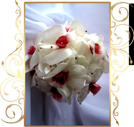 Фото 810317 в коллекции Цветы из шелка - Кнауб Ольга - Свадебные аксессуары