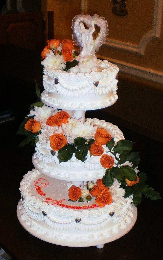 """Фото 8226170 в коллекции Свадебные торты - Арт-кондитерская """"Торты от Светланы"""""""