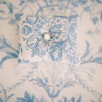 """Подушечка для колец с голубых тонах на свадьбе Катерины и Андрея от """"Oh Marriage!"""""""